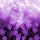 Purple Cubes Background Means Repetitive Pattern Or Wallpaper poster