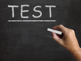 Test Blackboard Shows Assessment Exam And Grade