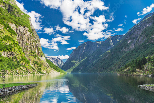 Fjord in Norway © gevisions