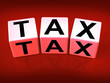 Tax Blocks Show Taxation and Duties to IRS