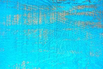 Holzbrett - blau