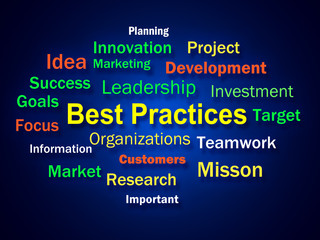 Best Practices Brainstorm Shows Optimum Business Procedures