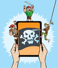 Pirate Tablet hack