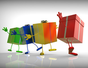 Presents Mean Shopping For Special Or Perfect Gift