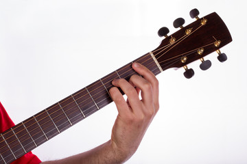 How to play Minor Barre Chord on the Fifth String