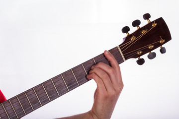 Major Barre Chord on the Fifth String