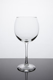 Simplicity - Empty Red Wine Glass poster