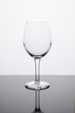 Simplicity - Empty White Wine Glass poster