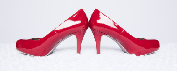 Sexy Red Pumps Panorama