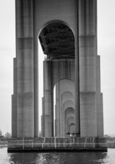 Under the Goethals Bridge