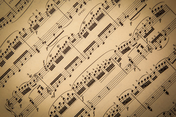 Vintage Sheet Music