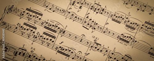 Vintage Sheet Music - 64381445