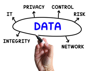 Data Diagram Means Information Privacy And Integrity