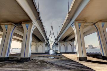 Bridge in Dubai, United Arab Emirates