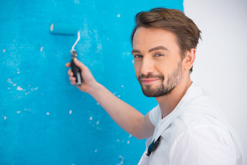 man painter