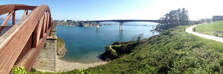 Landscape in Ribadeo, Spain