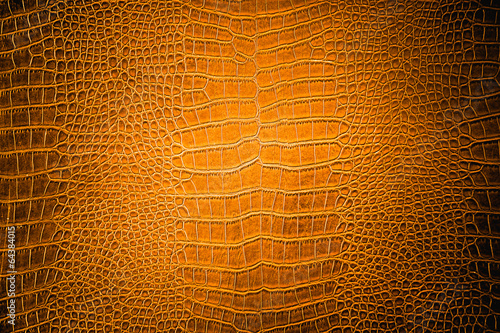 brown Crocodile leather, can use as background