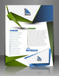 Vector Back Call Center Flyer Magazine Cover & Poster Template.