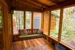 Bench Swing in Screened Porch - 64384620