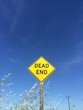 dead end traffic sign