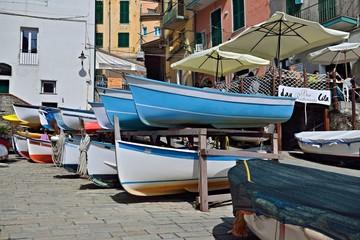 Fischerboote in Riomaggiore | Cinque Terre