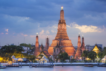 Wat Arun temple , bangkok ,thailand
