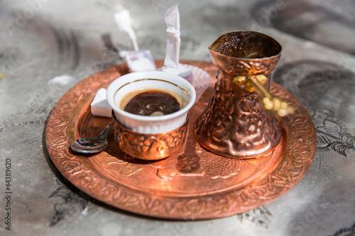 Canvas Cafe Orientalischer Mokka