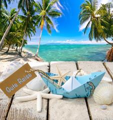 Gute Reise ..... Strandurlaub, Bootsreise in die Karibik :)