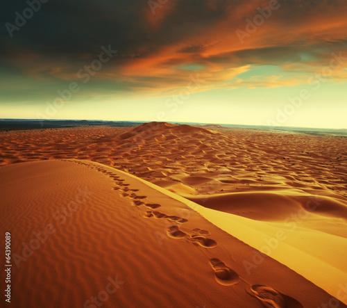 Fotobehang Woestijn Desert