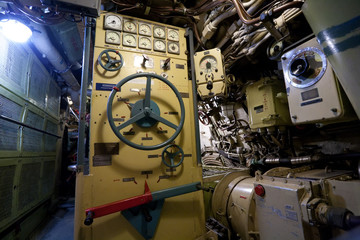 Russian submarine interior