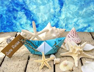 Gute Reise: Träumen vom Urlaub am Meer :)