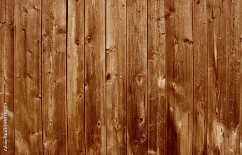 canvas print picture Rustikaler brauner Holzhintergrund