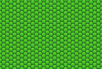 Wabenmuster in grün als Hintergrund