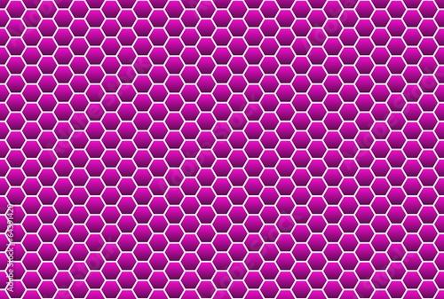 Wabenmuster in violett als Hintergrund