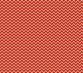 Zick-zack Muster in rot weiß