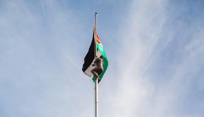 Ramallah Flagge Palästina