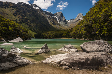 lake Mackenzie in Fiordland National Park