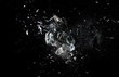 Leinwandbild Motiv glass  explosion