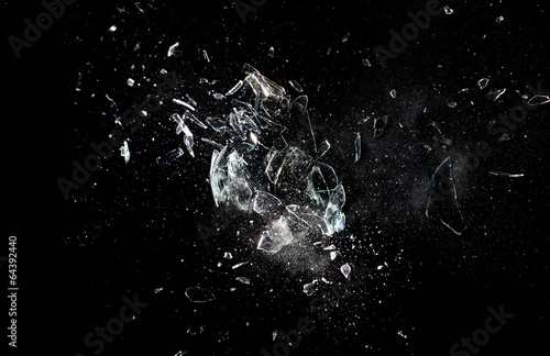 glass  explosion - 64392440