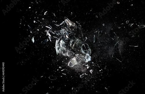 mata magnetyczna Wybuch szkła
