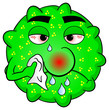 kranker Grippe Virus