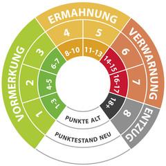Punktestand Flensburg alt neu