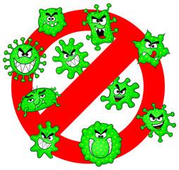 Bakterien verboten