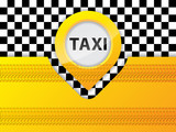 Fototapety Taxi background design with tire treads