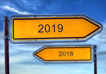 Strassenschild 1 - 2019