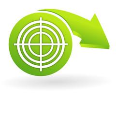 diagnostic sur web symbole vert