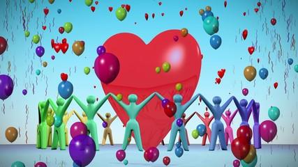 Love celebration.