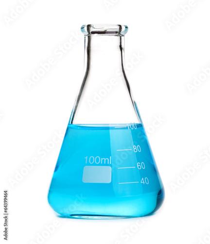 beaker isolated on white - 64399464