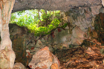 view from the cave, Cuba