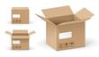 Boites en carton vectorielles 2 - 64402867
